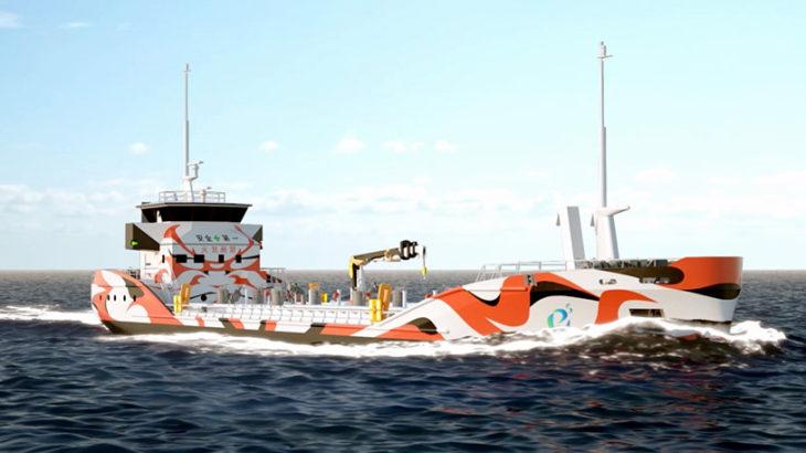 「温室効果ガス排出ゼロ」のEV船普及へ商船三井など7社がタッグ