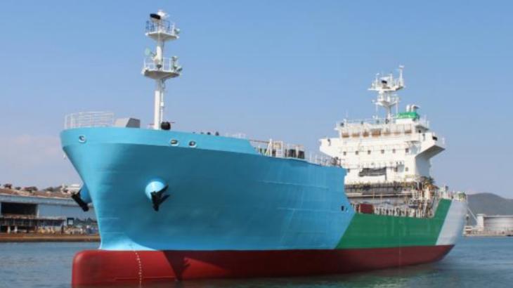 日本初のLNGバンカリング船が進水