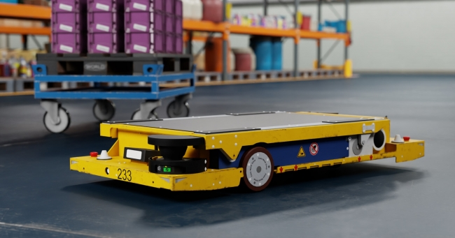 BMWグループ、生産拠点でAI物流ロボットの活用拡大へ