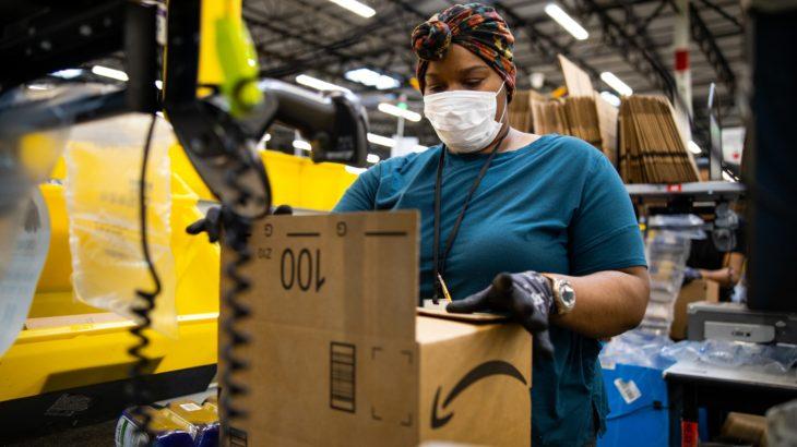 【新型ウイルス】アマゾン、臨時雇用の12・5万人に正社員への移行機会を提供