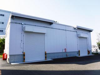 丸全昭和運輸、横浜・幸浦で新たな危険物倉庫が完成
