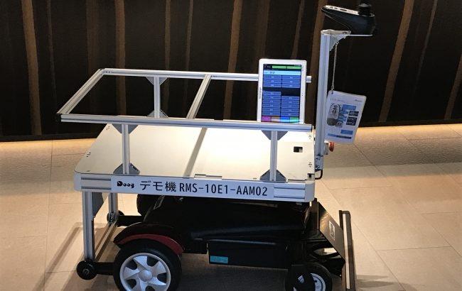 【新型ウイルス】大分県、コロナ軽症者受け入れ施設で無人配送ロボットの実証実験開始