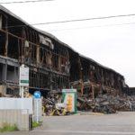 宮城・岩沼の物流施設火災、原因究明が本格化