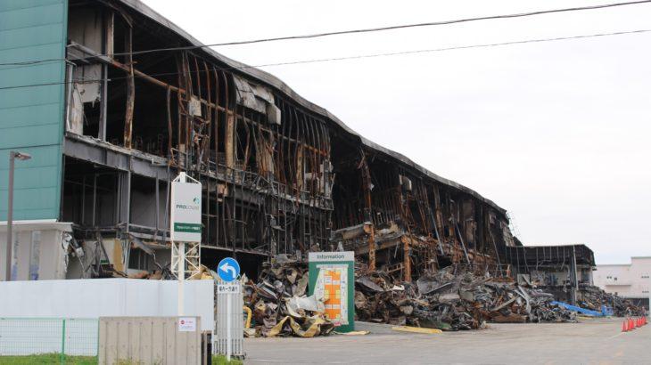 宮城・岩沼の物流施設火災、21年春ごろの建て替え工事開始目指す