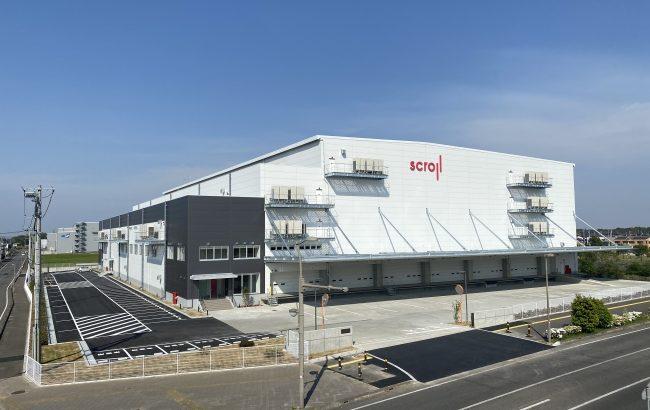 スクロール360、茨城・つくばみらいの新物流拠点が稼働開始