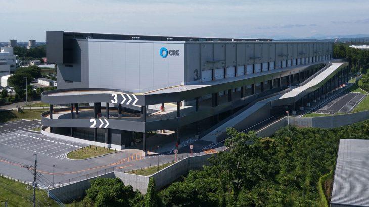 CRE、埼玉・飯能で8・4万平方メートルの大型物流施設完成