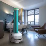 【動画、新型ウイルス】オムロン、自動搬送ロボットを世界10カ国以上で消毒作業に提供