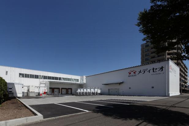 メディセオ、札幌に新たな高機能物流センターが完成