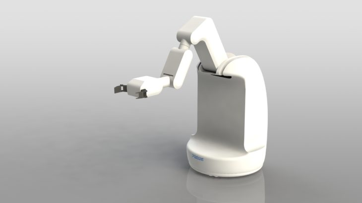 プリファードネットワークス、アームと作業用ハンド備えた自律移動ロボットの量産目指す