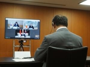 【新型ウイルス】日中韓物流大臣会合の特別セッション、コロナの悪影響克服へ連携強化で一致