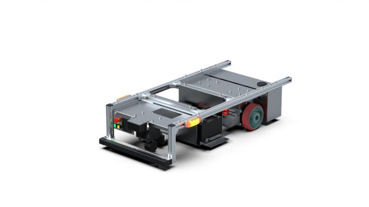 シャープ、磁気テープ活用タイプの新たなAGV受注開始