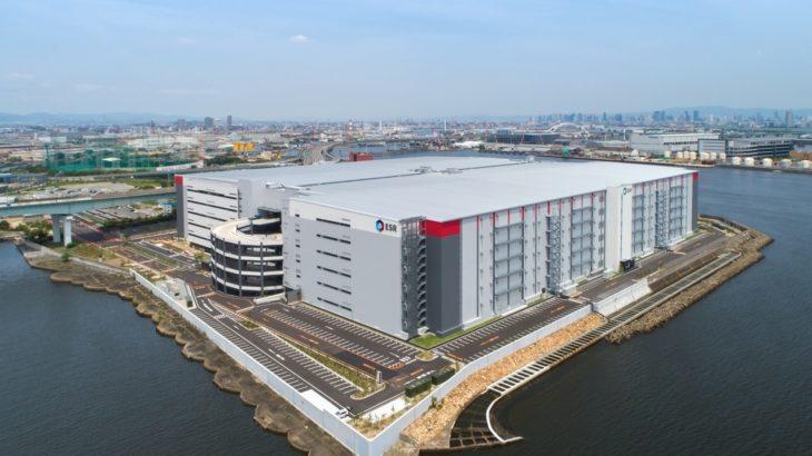 ESR、兵庫・尼崎で38・9万平方メートルとアジア太平洋最大級の物流施設が完成
