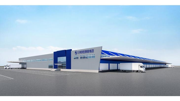メディアスHD傘下の栗原医療器械店、群馬・太田に3・1万平方メートルの新物流拠点開設へ