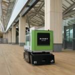 花岡車輛、東京・高輪ゲートウェイ駅のロボット搬送実証実験にAGV投入