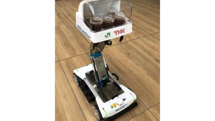 THK、リフター付き自律搬送ロボットの受注開始