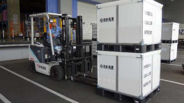 日本通運、強固な新容器用いた小口貨物輸送サービスを全国主要都市に拡大