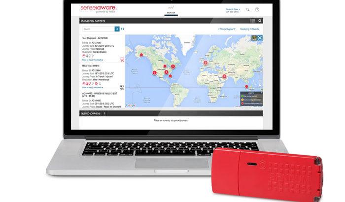 フェデックス、輸送中貨物の状態をリアルタイムで監視可能な新サービス提供開始へ