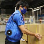 佐川急便、熱中症対策で現場に冷却ファン内蔵の「クールファンベスト」2800枚配布