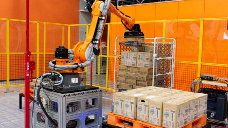 フレームワークスとMUJINが倉庫自動化ソリューションで業務提携
