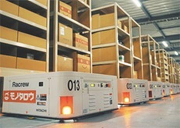 日立、MonotaROが兵庫・猪名川のプロロジス施設に開く物流拠点で無人搬送ロボ400台受注