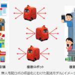 東京・佃の高層マンションエリアで無人宅配ロボの公道走行実証へ