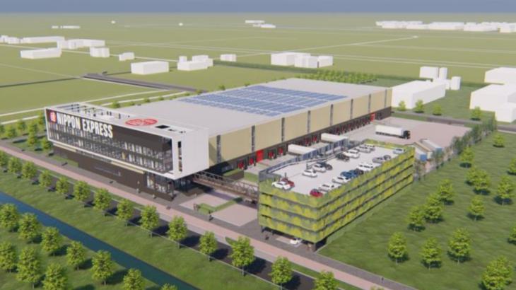 日本通運、オランダのアムステルダム・スキポール空港近郊に新倉庫開設へ