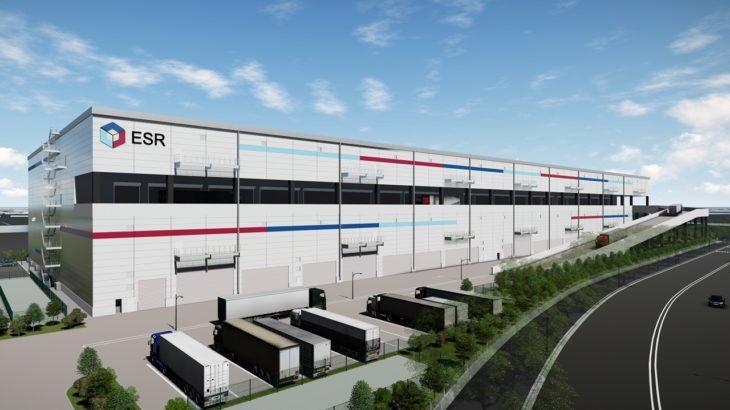 ESRが川崎・夜光で開発中の大型物流施設、ダイワコーポレーションが1棟借り