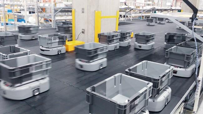 オルビス、埼玉・加須のセンターでAGV330台活用の自動集荷・出荷システム稼働