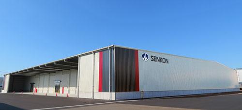 センコン物流、新潟の営業所で最新の空調機器や温度センサー備えた新倉庫完成