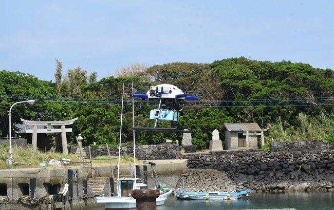 長崎県五島市でドローンの処方薬輸送を実験へ
