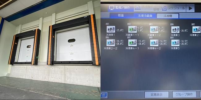 関通、東大阪の主管センター1階を冷凍冷蔵専用フロアに改修
