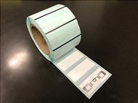 トッパン・フォームズ、温度測定機能付きICラベルを開発
