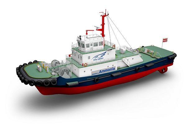 日本郵船などが世界初、アンモニア燃料のタグボート実用化へ共同研究開始