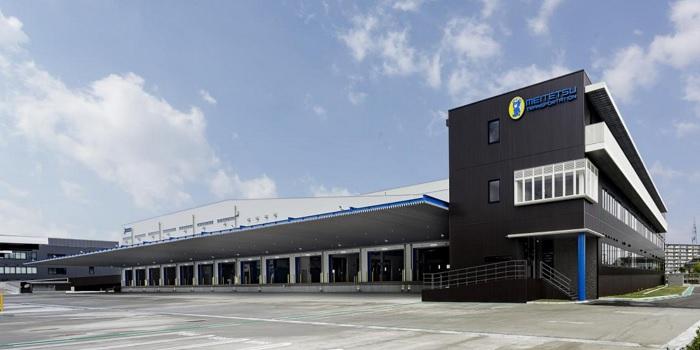 名鉄運輸の「トラックターミナル関西」が営業開始