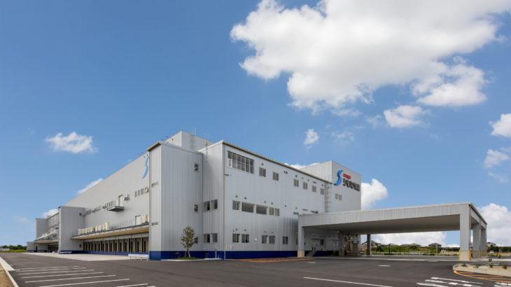 シモハナ物流、中京エリア最大規模の3PL対応センターが愛知・一宮に完成