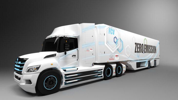 トヨタと日野、北米向けに水素燃料電池トラックを共同開発へ
