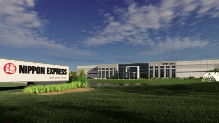 日本通運、米現地法人がシカゴ近郊に2・6万平方メートルの新倉庫開発へ