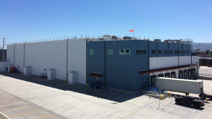 鴻池運輸、米グループ企業がカリフォルニア州で新たな冷凍倉庫稼働開始