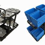 寺岡精工、最大8オーダーを同時ピック可能なカートを発表