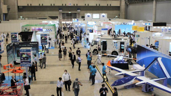国際展示会「Japan Drone 2020」初の大型ドローンに焦点、庫内棚卸し自動化への活用提案も