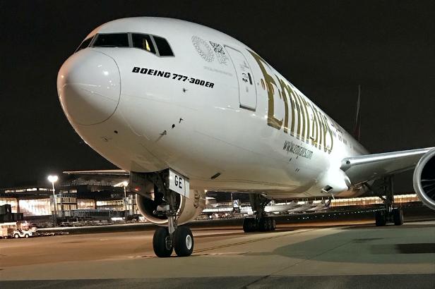 エミレーツスカイカーゴ、羽田への旅客機貨物便運航開始