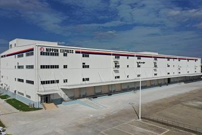 日本通運、中国・上海で2・4万平方メートルの新倉庫竣工