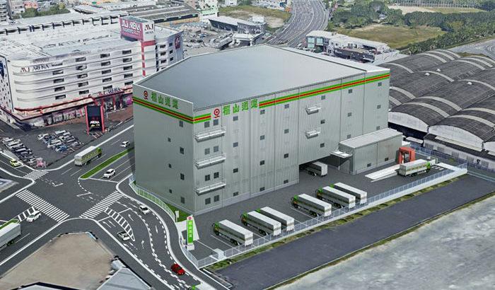 福山通運、福岡支店隣接地に倉庫と整備工場を建設へ