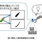 東芝、積み重なった荷物も正しく認識可能な物流ロボット実用化へ