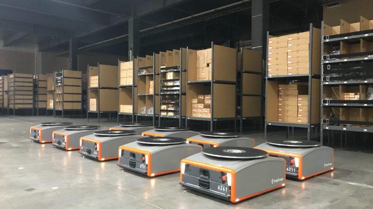 三菱商事の月額制倉庫ロボットサービス、日本梱包運輸倉庫が三重・鈴鹿の拠点に導入