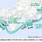 花王とライオン、双方のルート連結した往復輸送を10月に開始