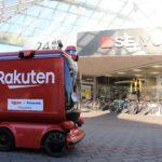 楽天と西友、神奈川・横須賀で日本初のロボットが公道走行する宅配サービスを期間限定で実施へ