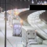 【大雪】新潟県内の関越道上り線、依然1000台程度が立ち往生(12月18日正午時点)