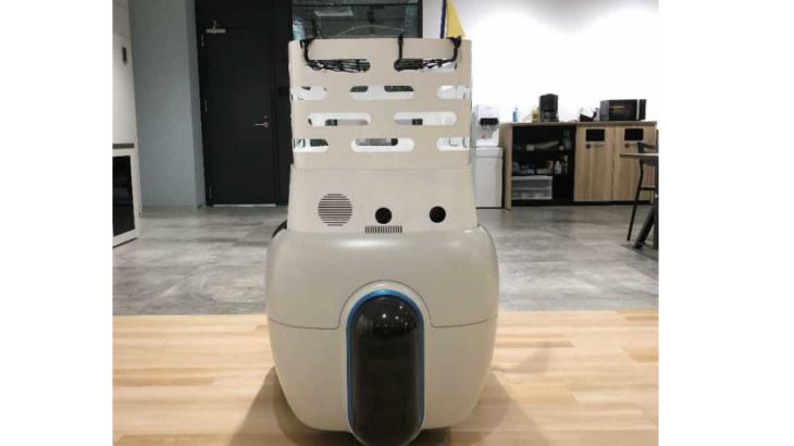 岡山・玉野市で低速・小型自動配送ロボットの公道走行実験開始、三菱商事や三菱地所など参加