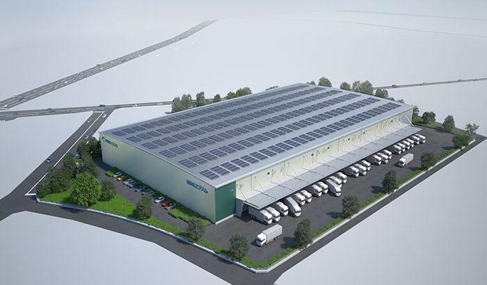 プロロジス、福岡ロジテム向けに小郡で2・7万平方メートルのBTS型物流施設を開発